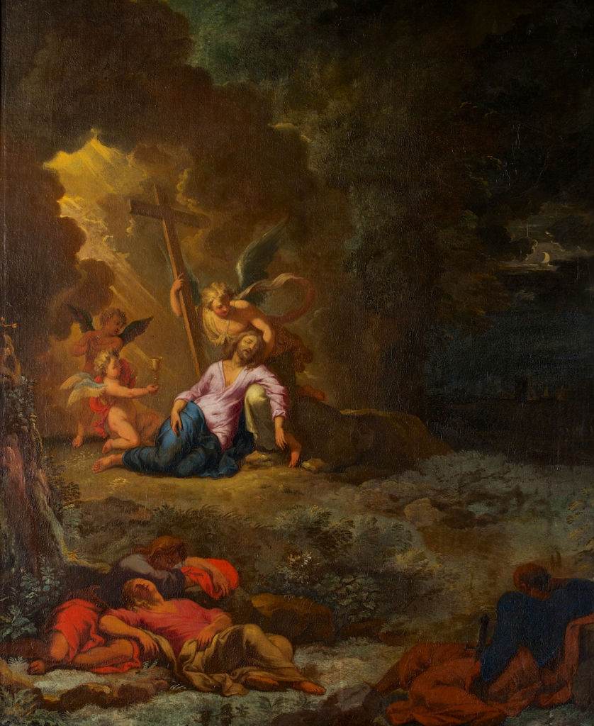 Pieter Mulier, called Cavaliere Tempesta, </br> Christ's Agony in the Garden.