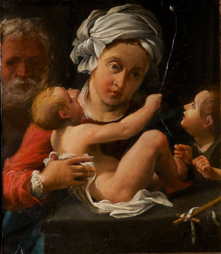 Attributed to Bartolomeo Schedoni (1570-1615), </br> The Virgin and Child.