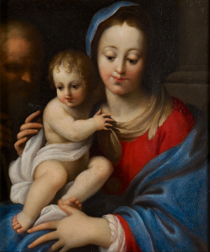 After Bartolomeo Schedoni (1570-1615), </br> The Holy Family.
