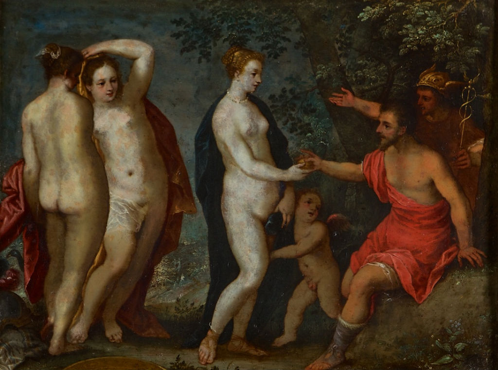 Attributed to Hans Rottenhammer, </br> The Judgement of Paris.
