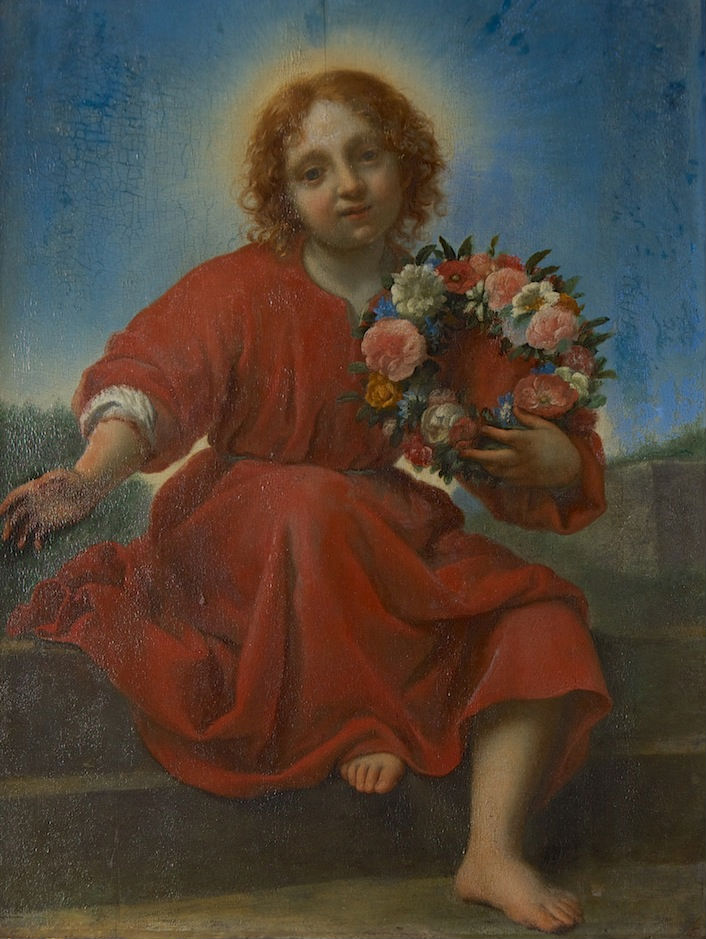 After Carlo Dolci, </br> The Infant Christ with Flowers.