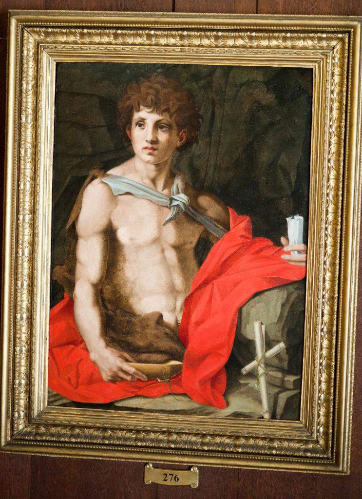 Studio of Andrea del Sarto </br> St. John the Baptist.