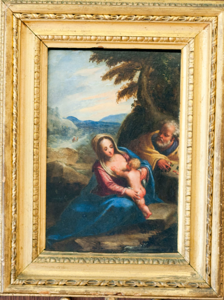 Domenico Mona, </br> The Rest on the Flight into Egypt.