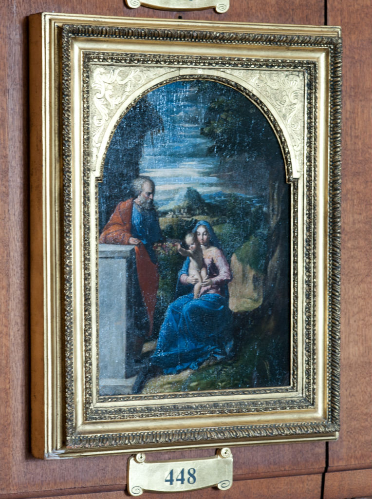 Girolamo Bastarolo, </br> The Holy Family.