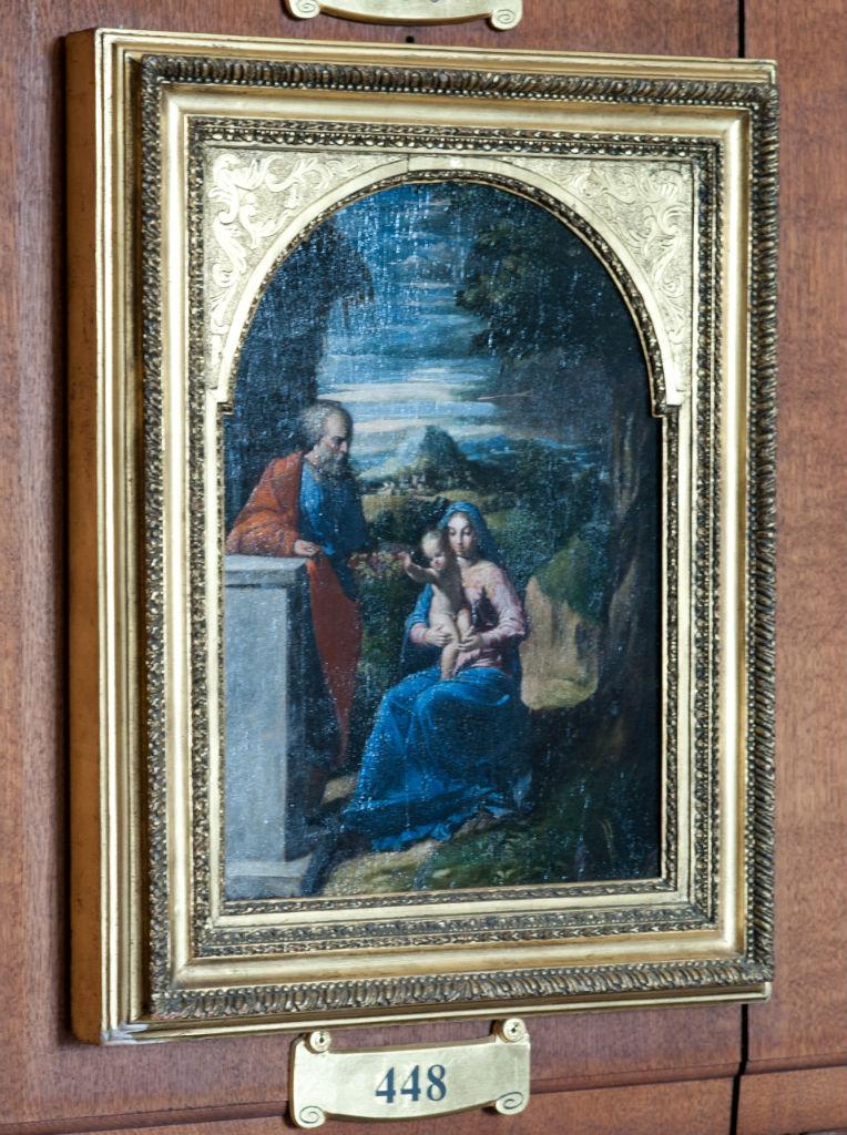 Girolamo Bastarolo, </br> The Holy Family.