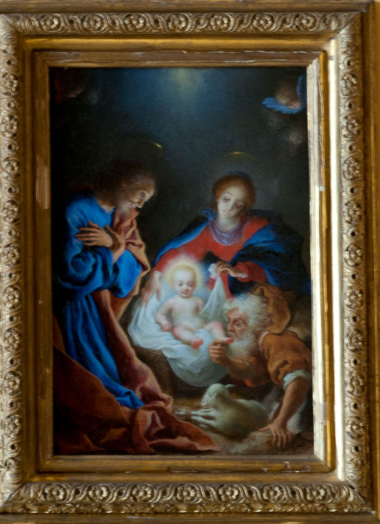 Carlo Dolci, </br> The Nativity.