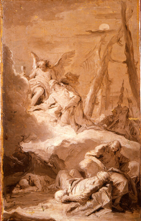 Giovanni Battista Tiepolo. </br> The Agony in the Garden.