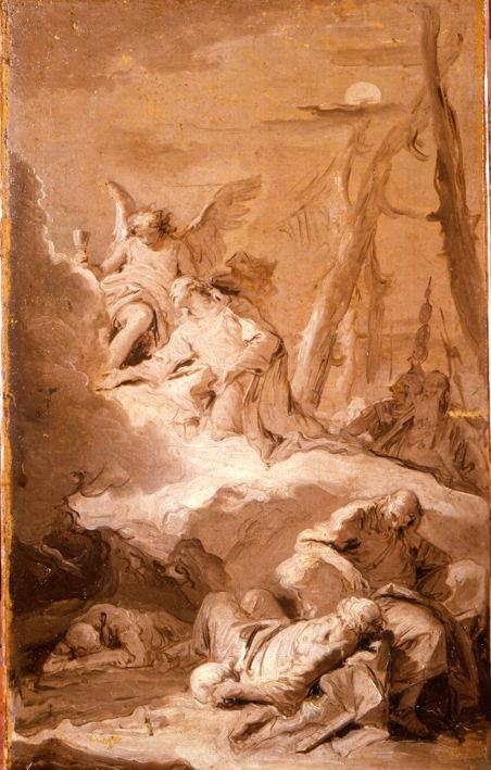 Giovanni Battista Tiepolo. </br> The Agony in the Garden.