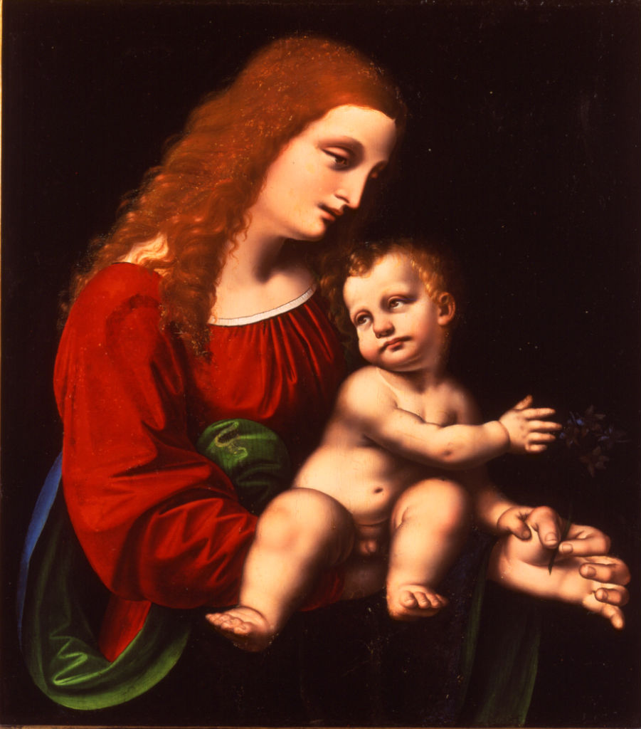 Marco d'Oggiono, </br> The Virgin and Child.