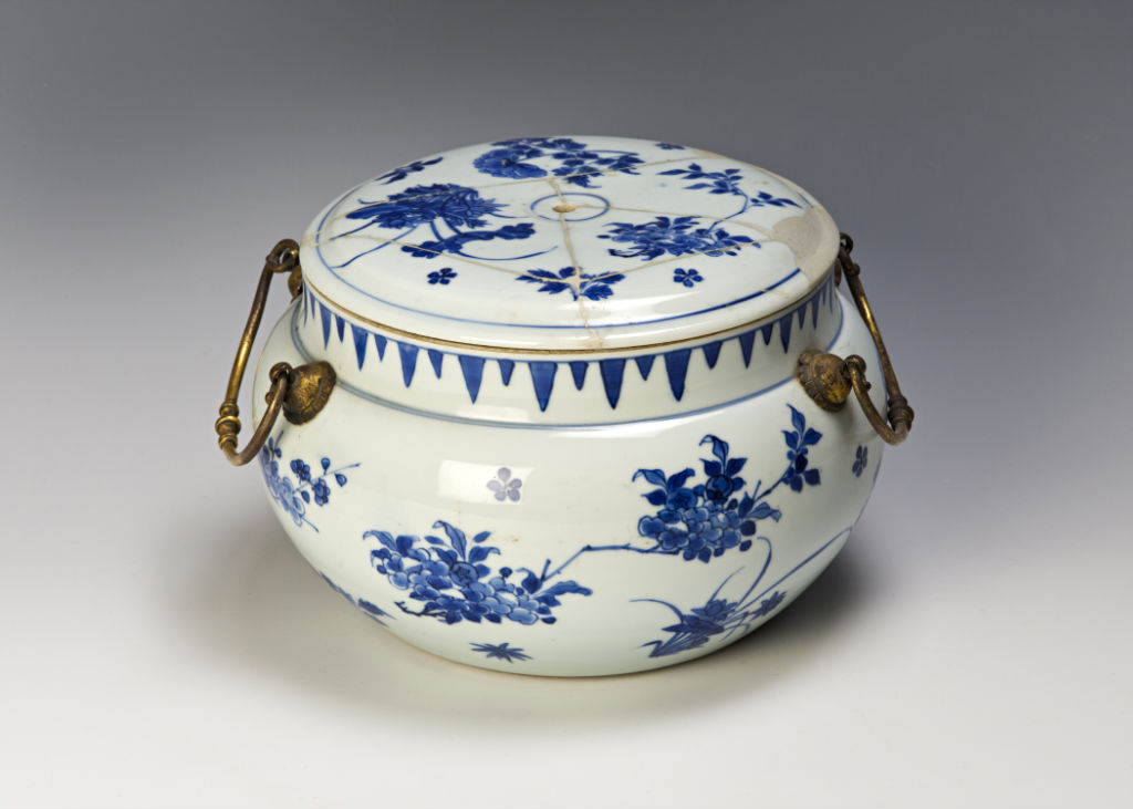 A posset pot and cover, Transitional, circa 1640/50.