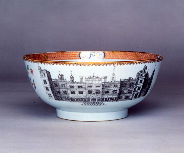 A punch bowl, Yongzheng, circa 1735.