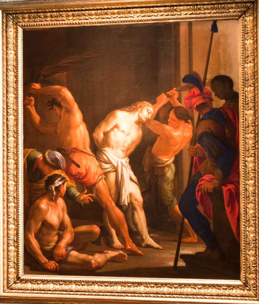 The Scourging of Christ, Francesco Trevisani, (1656-1746).
