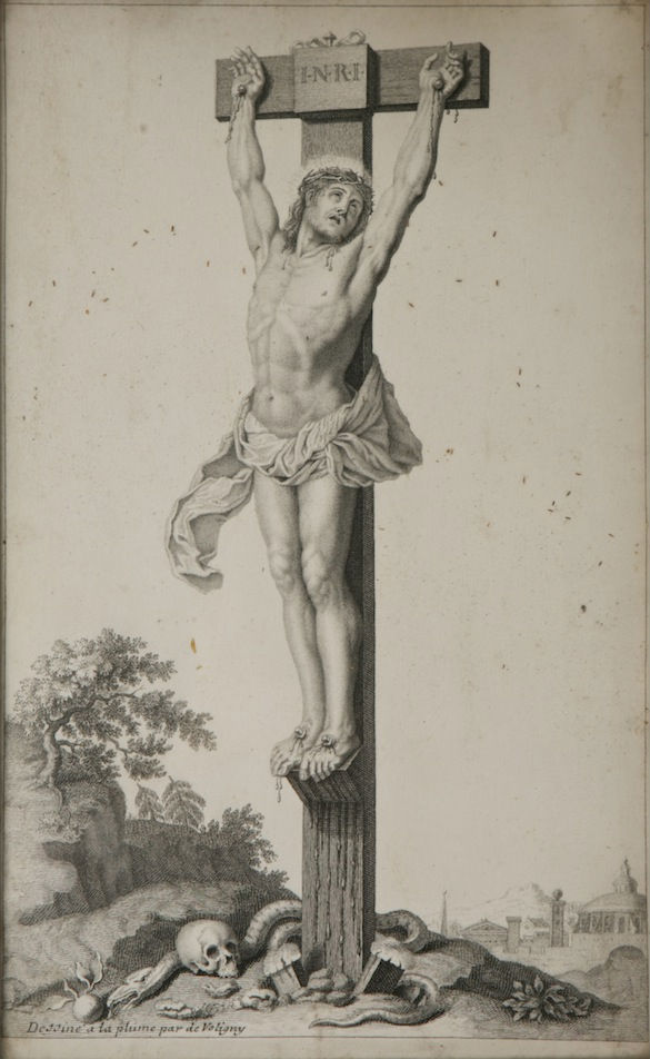 Our Saviour on the Cross, de Voligny, (died 1699).