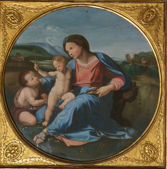 The Alba Madonna, after Raphael, (1483-1520).
