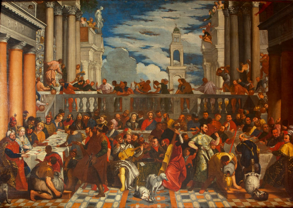 The Marriage at Cana, after Veronese, (1528-1588).