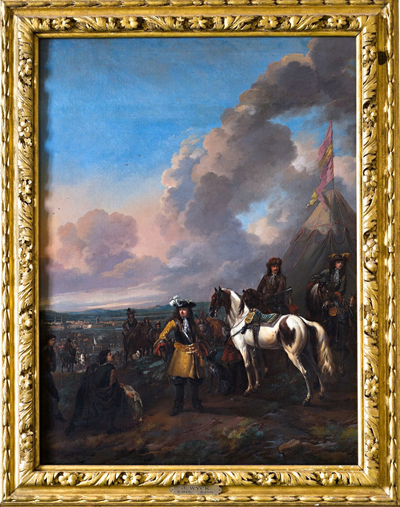 Louis XIV Receiving the Surrender of a Fortified Town, Jan Wyck, (1640-1702).