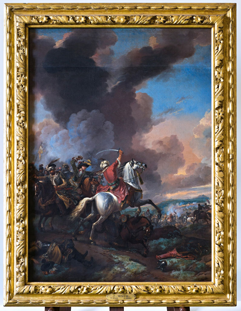 Turks and Christians in Battle, Jan Wyck, (1640-1702).