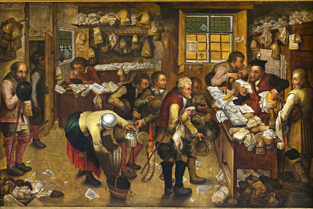 Rent Day, Pieter Breughel the Younger, (1564-1638).