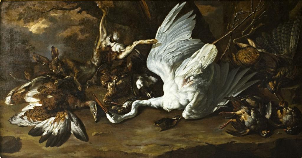 A Still Life of Game, Flemish School, 17th Century.