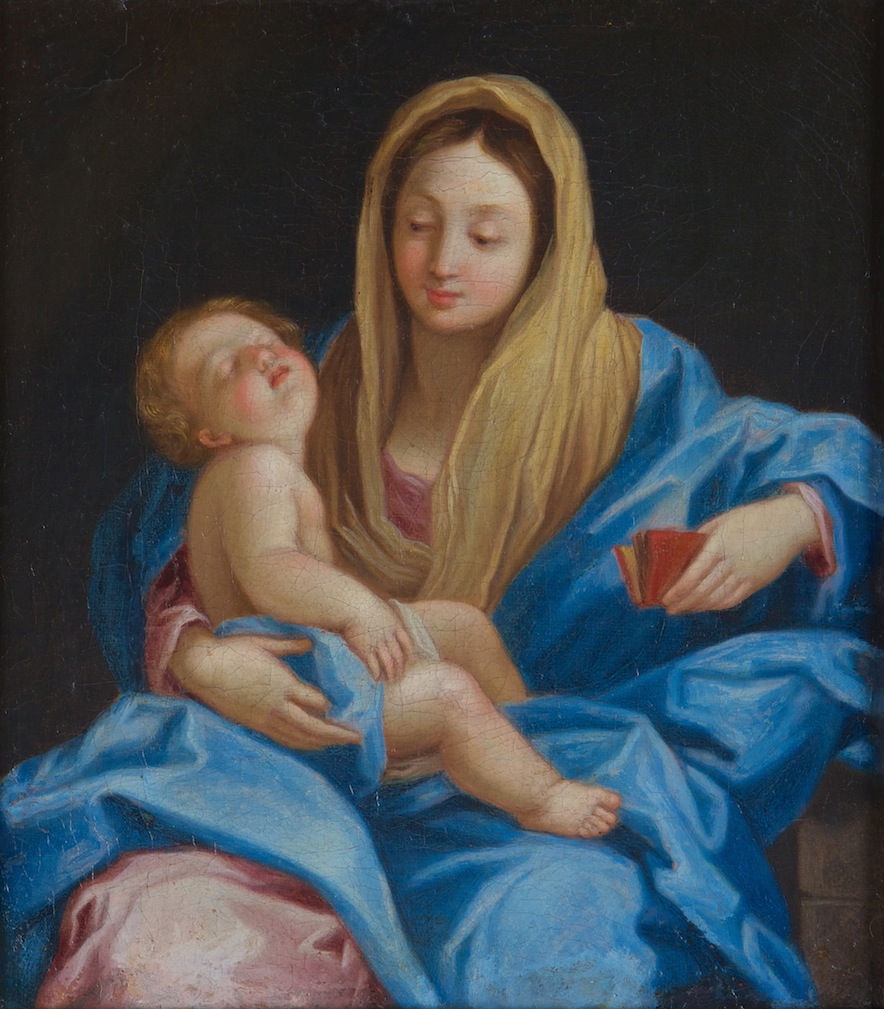 The Virgin and Child, Follower of Guido Reni, (1575-1642).