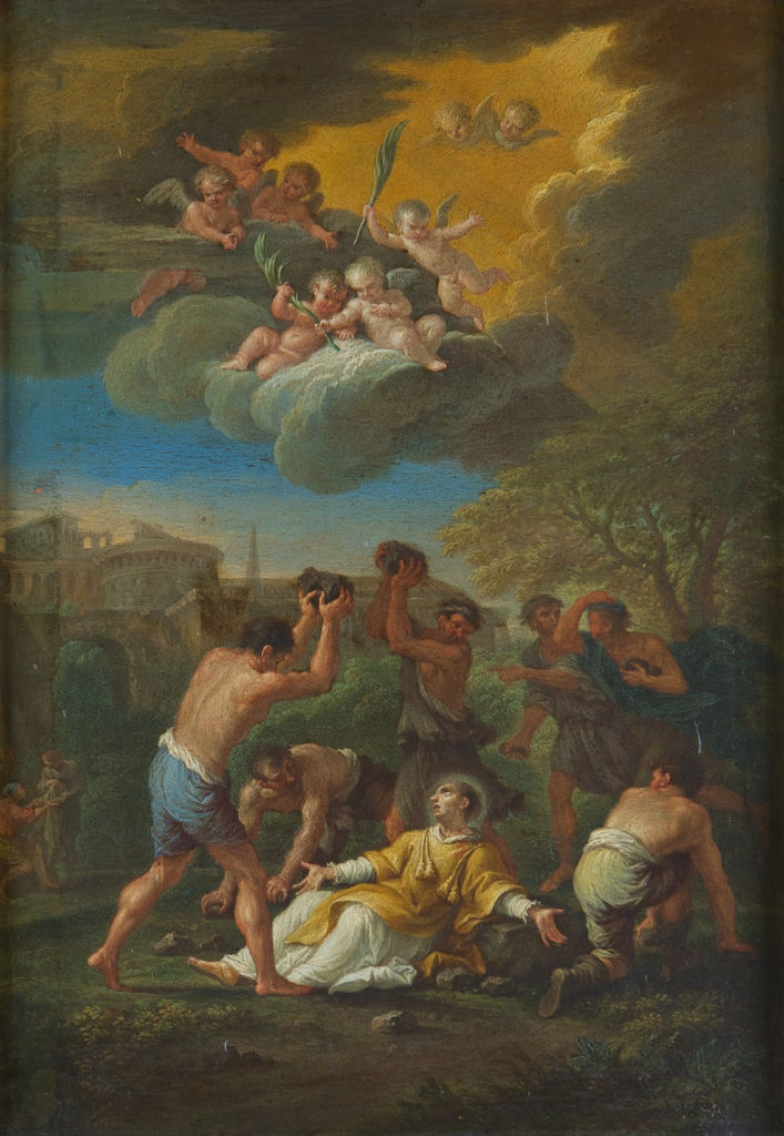 The Martyrdom of Saint Stephen, Filippo Lauri (1623-1694).