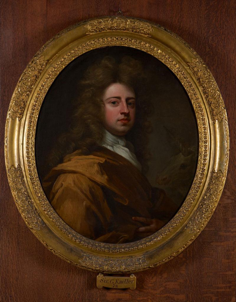 A Self Portrait, Sir Godfrey Kneller Bt. (1646-1723).