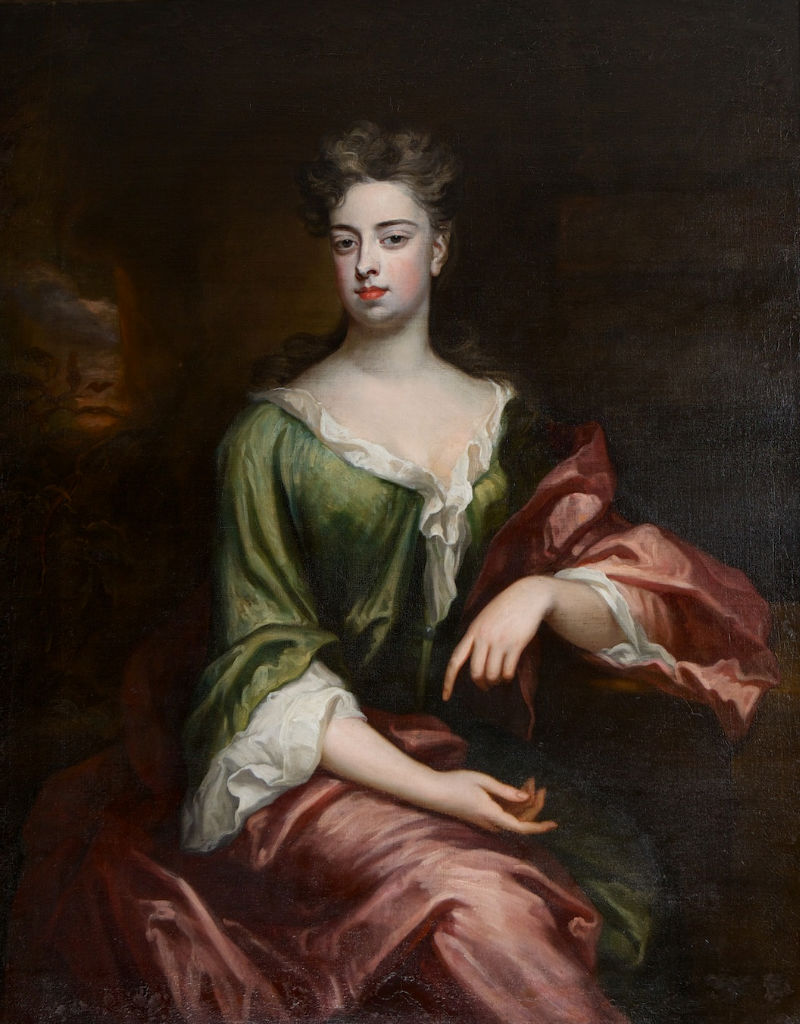 Portrait of Elizabeth Brownlow, second wife of John, 6th Earl of Exeter, (1674-1721).