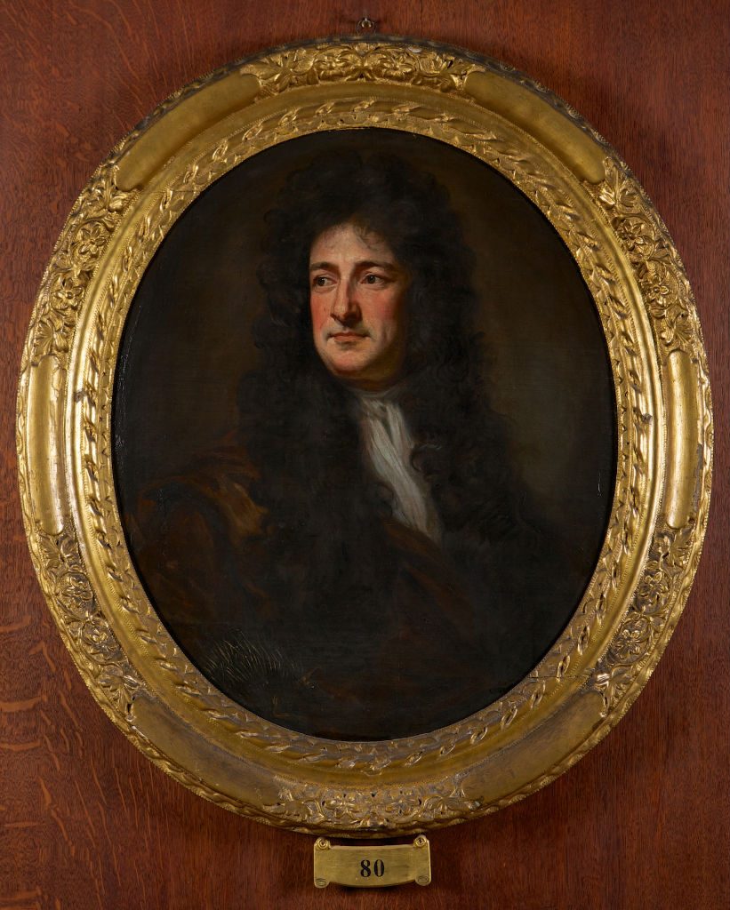 Portrait of Antonio Verrio, Sir Godfrey Kneller, Bt. (1646-1723).