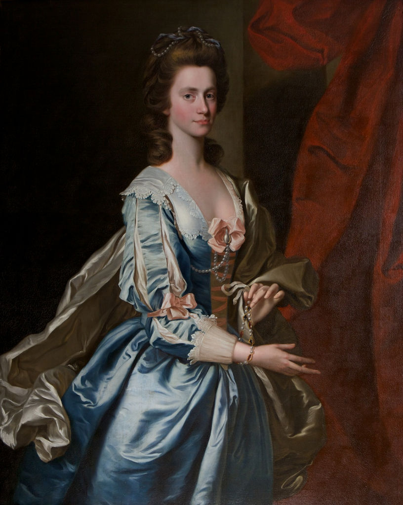 Portrait of Letitia Townshend, John Powell (after Thomas Hudson 1701-1779).