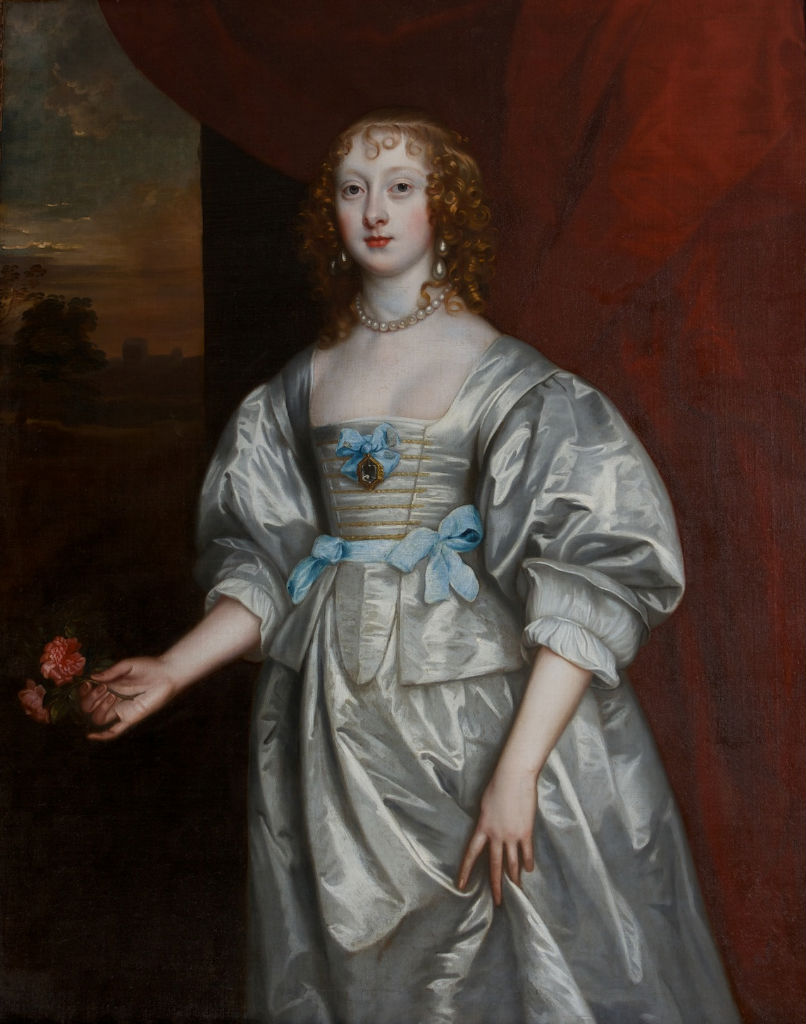 Portrait of Lady Elizabeth Cecil, wife of the third Earl of Devonshire, Follower of Sir Anthony Van Dyck (1599-1641).