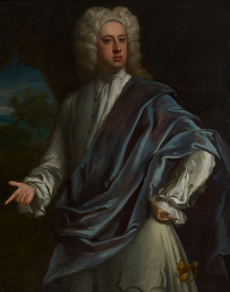 Portrait of Brownlow, 8th Earl of Exeter (1701-1754),  Jonathan Richardson (1667-1745).