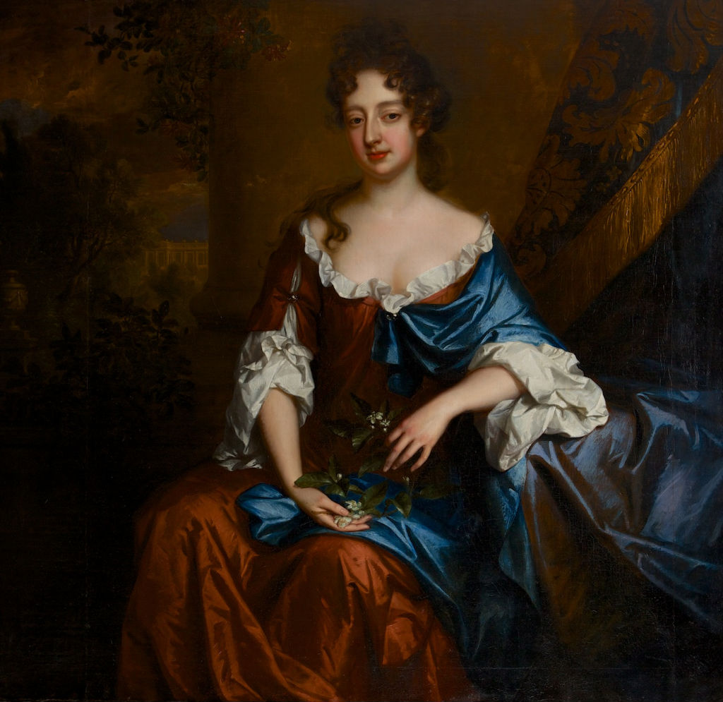 Portrait of Lady Bridget Noel, Willem Wissing (1656-1687).