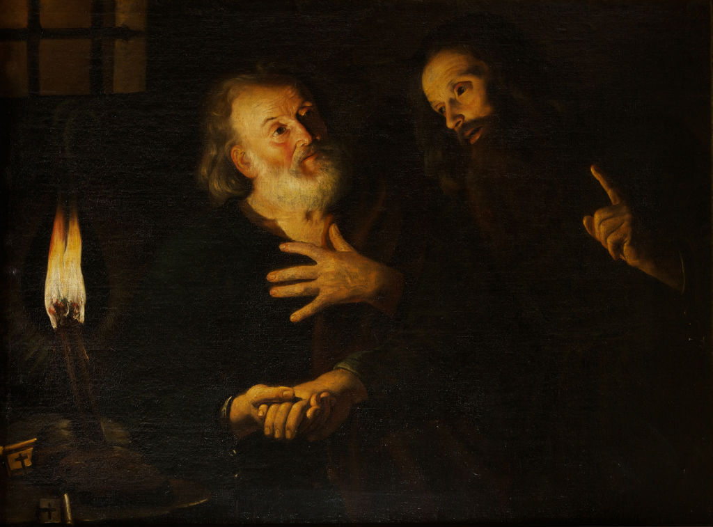 The Reconciliation of Saints Peter and Paul, Trophime Bigot (1579-1650).