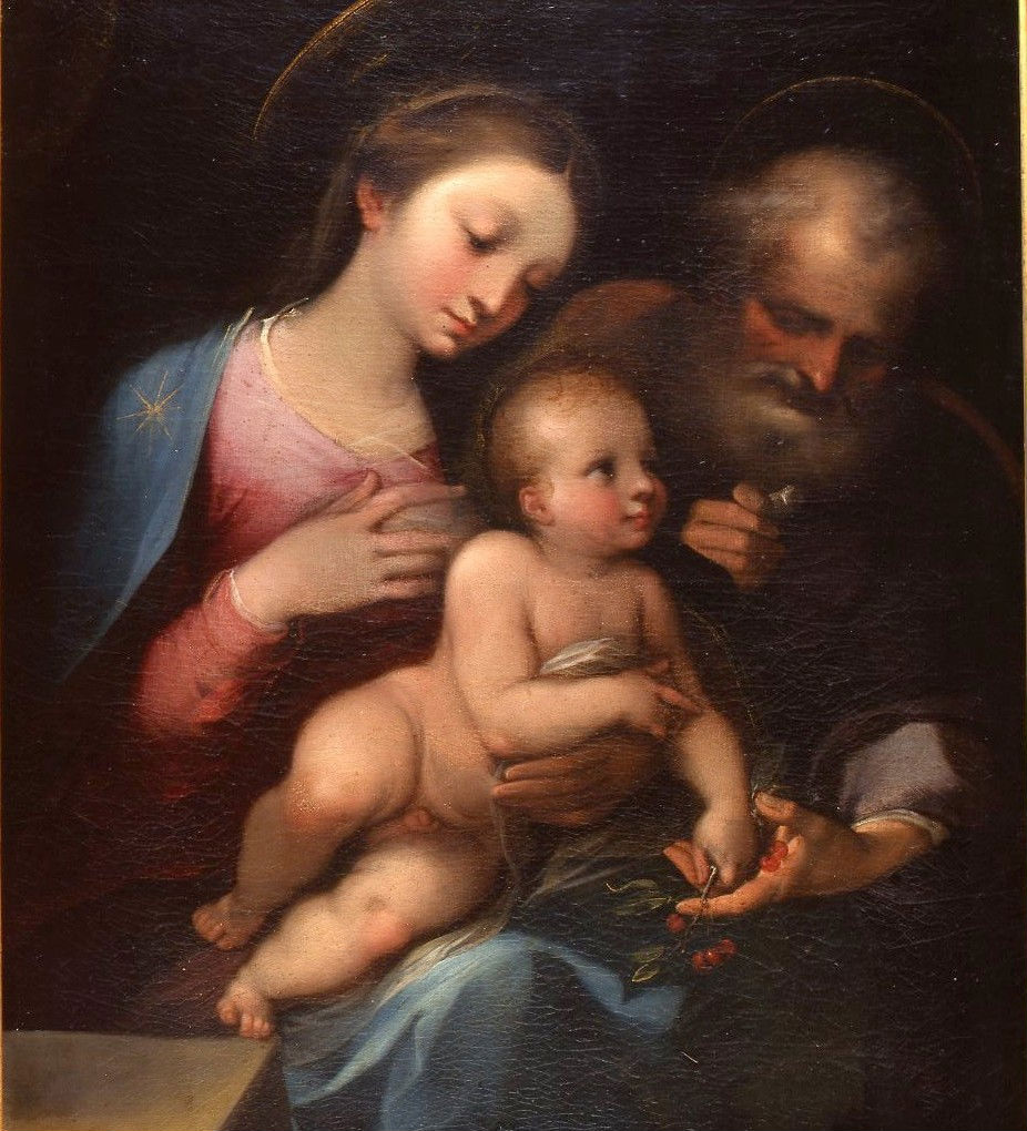 The Holy Family, Ventura Salimbeni (1568-1613).