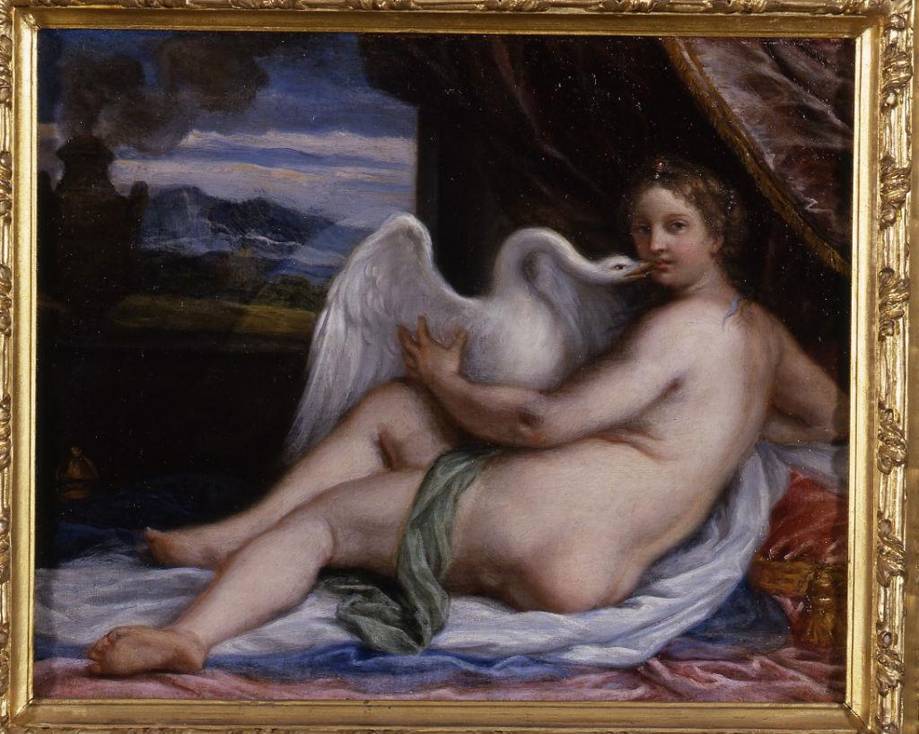 Leda and the Swan, Carlo Maratta (1625-1713).