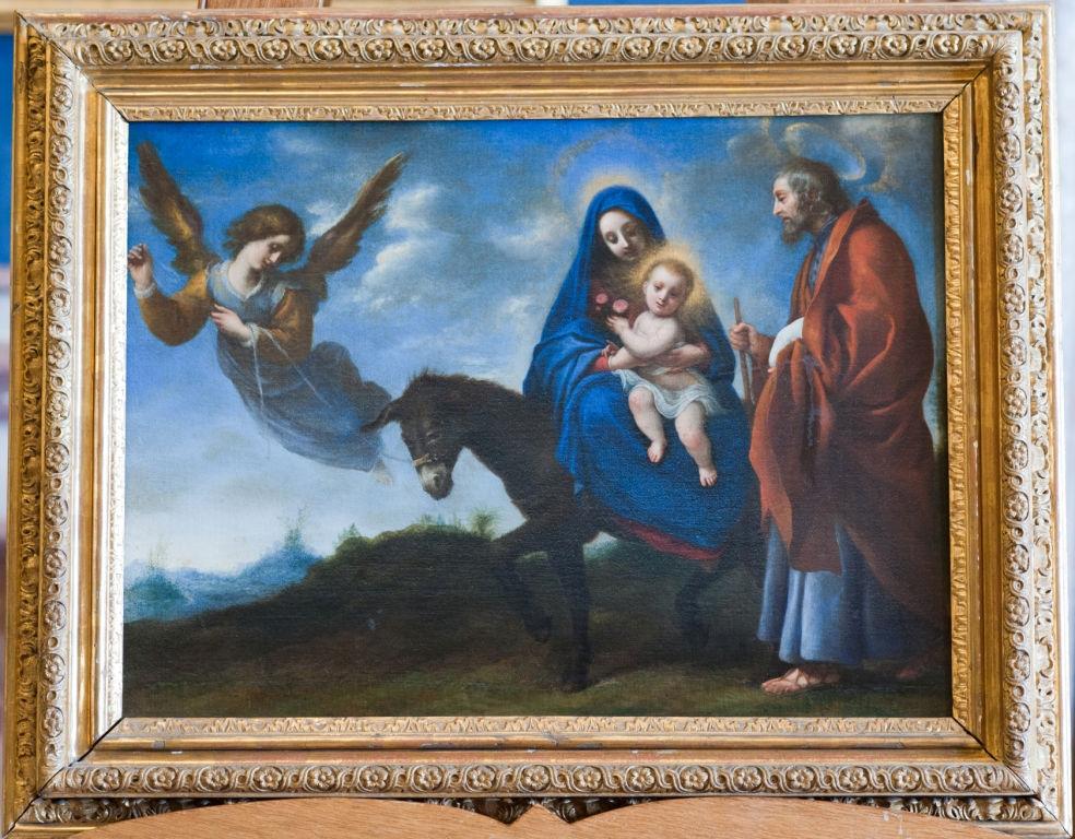 The Flight into Egypt, Carlo Dolci (1616-1686).