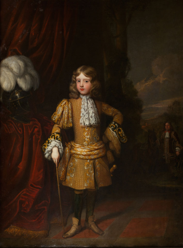 Portrait of John, 6th Earl of Exeter when a Boy, Sir Godfrey Kneller (1646-1723).