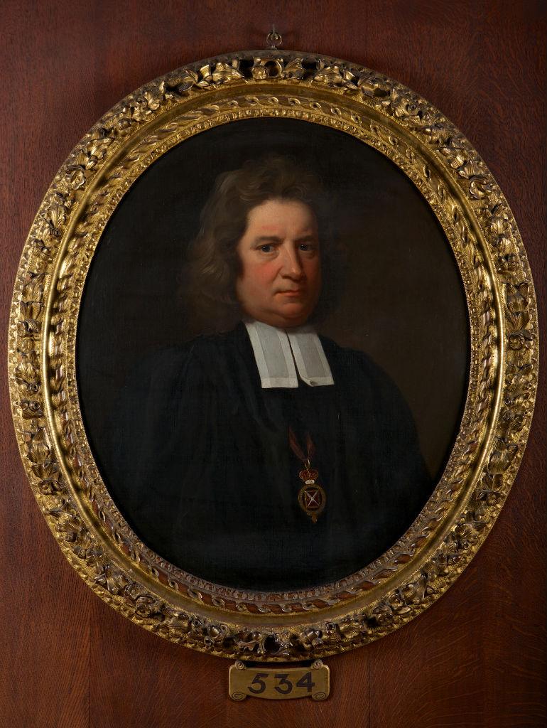 Portrait of Dr. Haschard, Dean of Windsor (died 1708), John Riley (1646-1691).