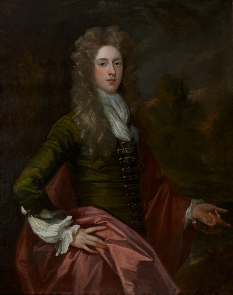 Portrait of the Hon. William Cecil, Sir Godfrey Kneller, Bt. (1646-1723).