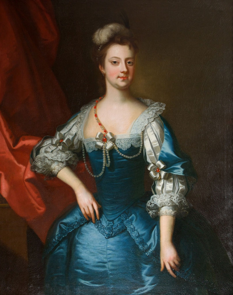 Portrait of Lady Elizabeth Aislabie, Enoch Seeman (1694-1745).