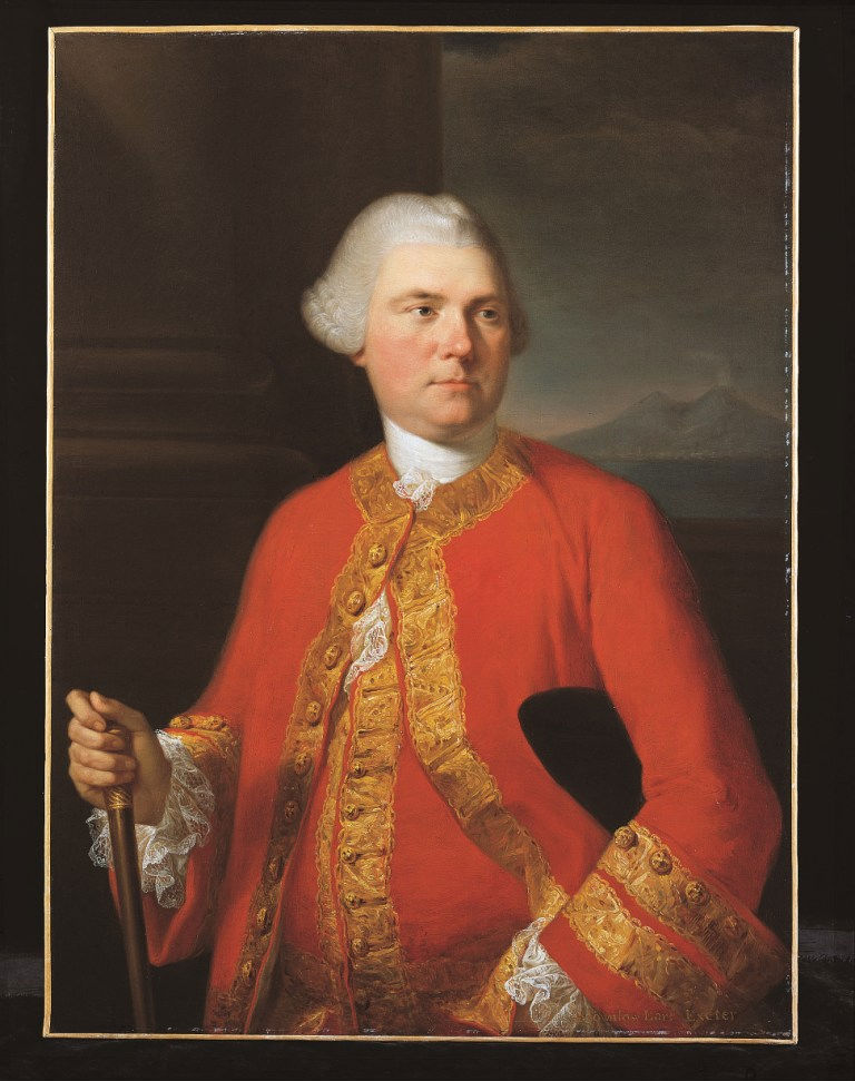 Portrait of Brownlow, 9th Earl of Exeter (1725-1793), Angelica Kauffman, R. A. (1741-1807).