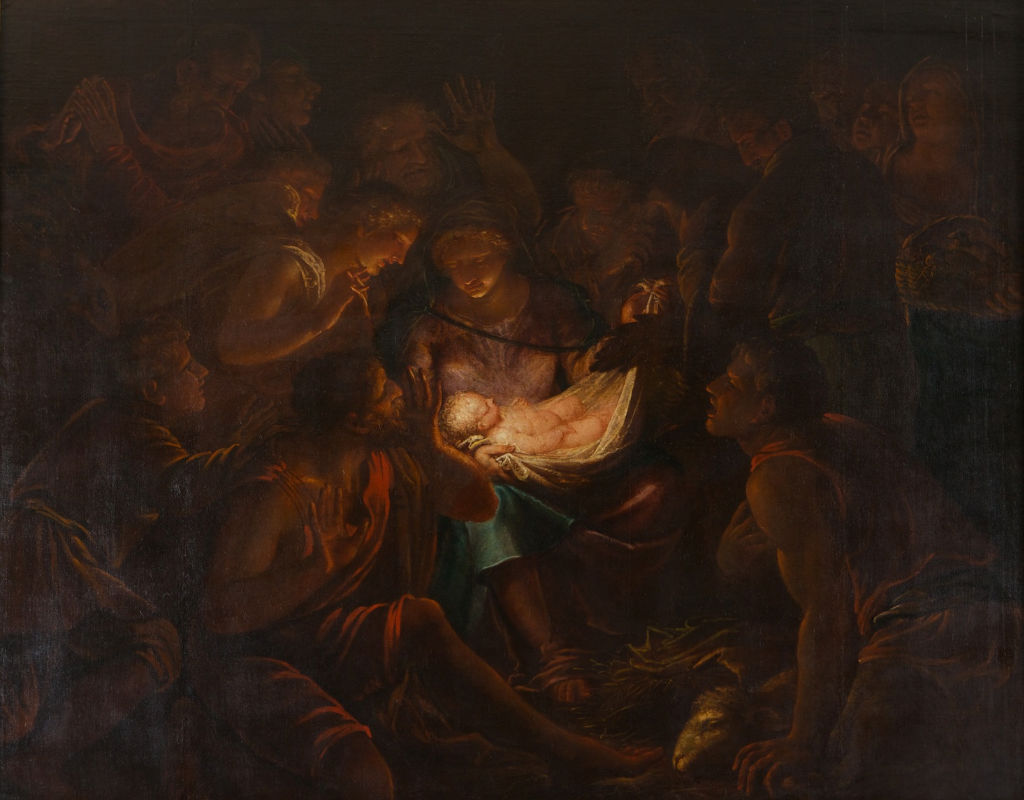The Adoration of the Shepherds, Marco Liberi (c.1640-c.1687).