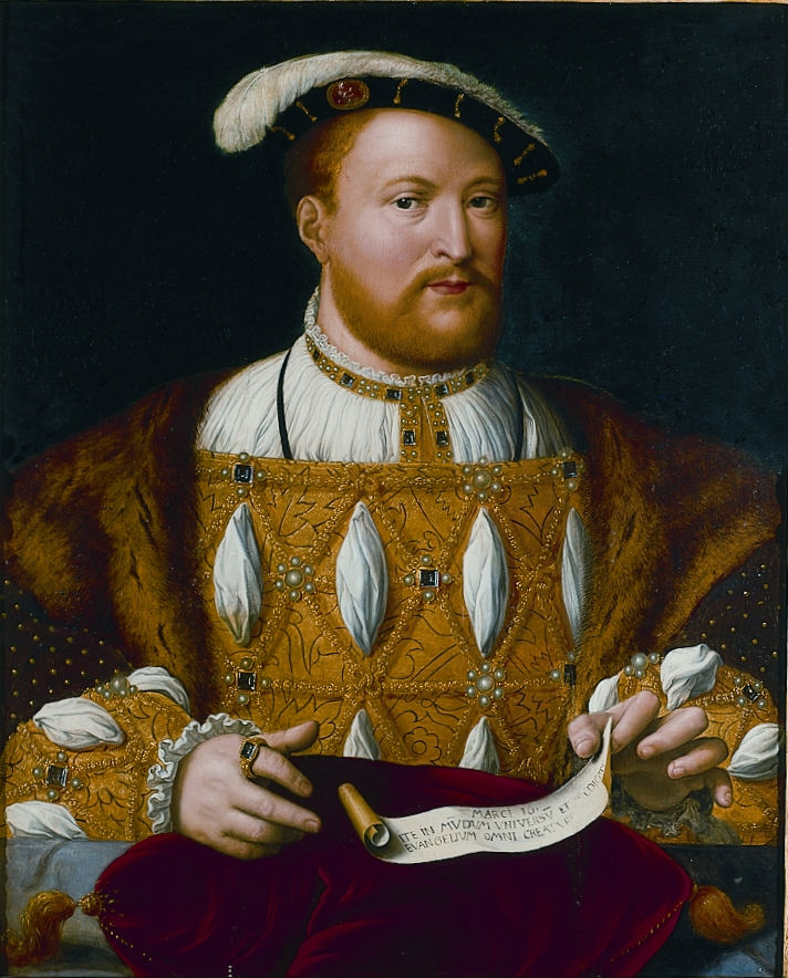 Portrait of King Henry VIII (1491-1547), After Joos Van Cleve (c.1485-1540).