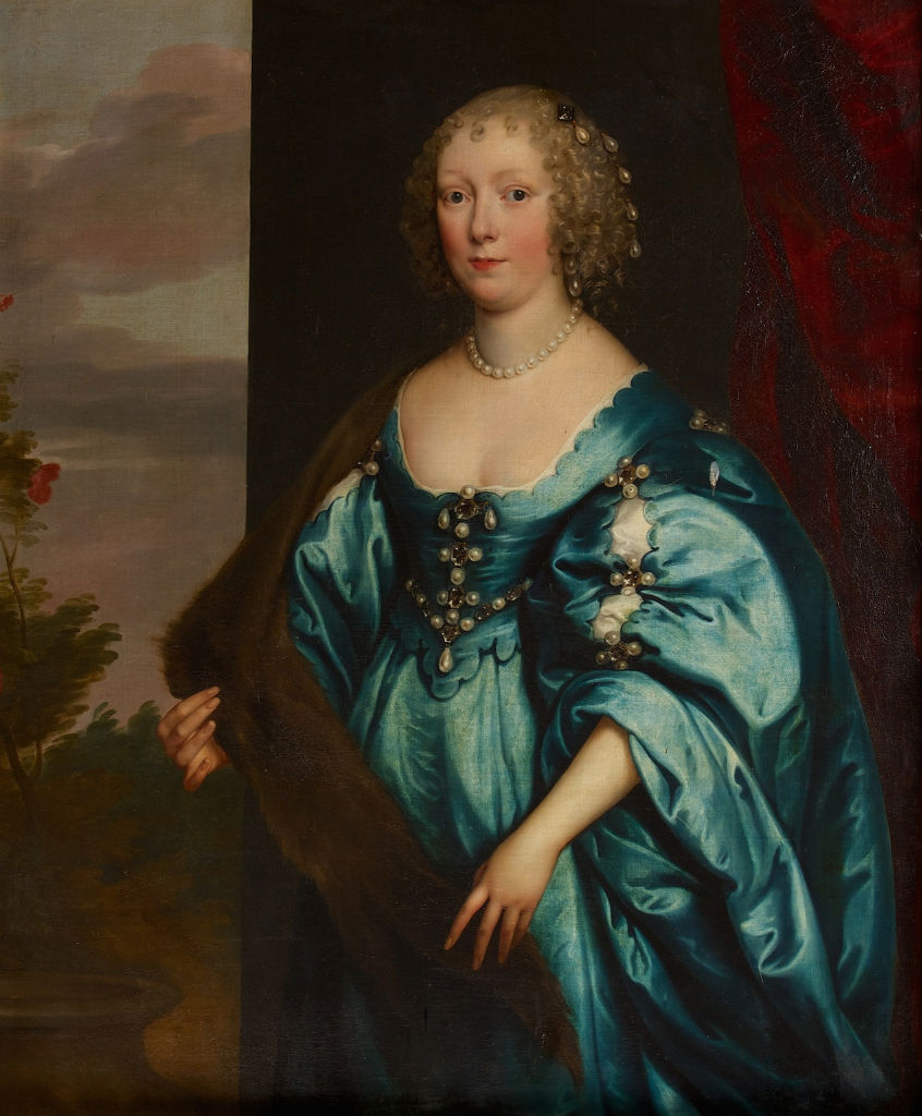 Portrait of Mary Rich, Countess of Warwick (1625-1678), Attributed to Edmund Ashfield (fl.1660-1690).
