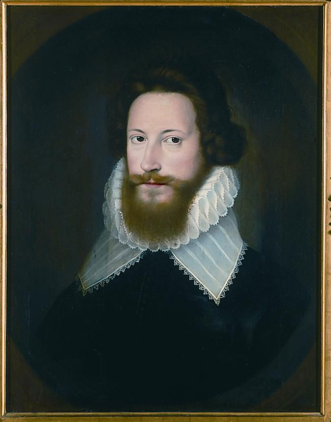 Portrait of Robert Devereux, 2nd Earl of Essex (1566-1601), After Isaac Oliver (1565-1617).