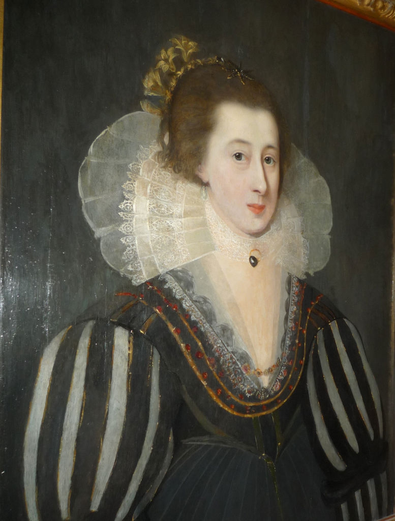 Portrait of Lady Dorothy Neville, (1549-1608), Circle of Cornelius Johnson (1593-1661).