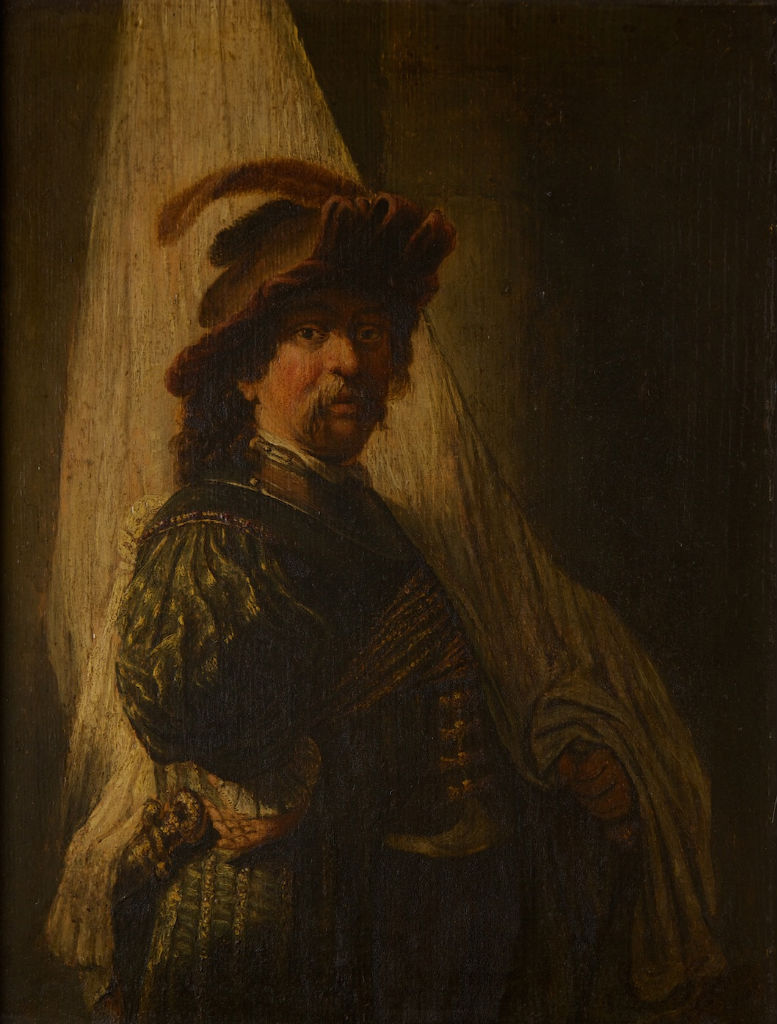 The Standard Bearer, After Rembrandt (1606-1669).