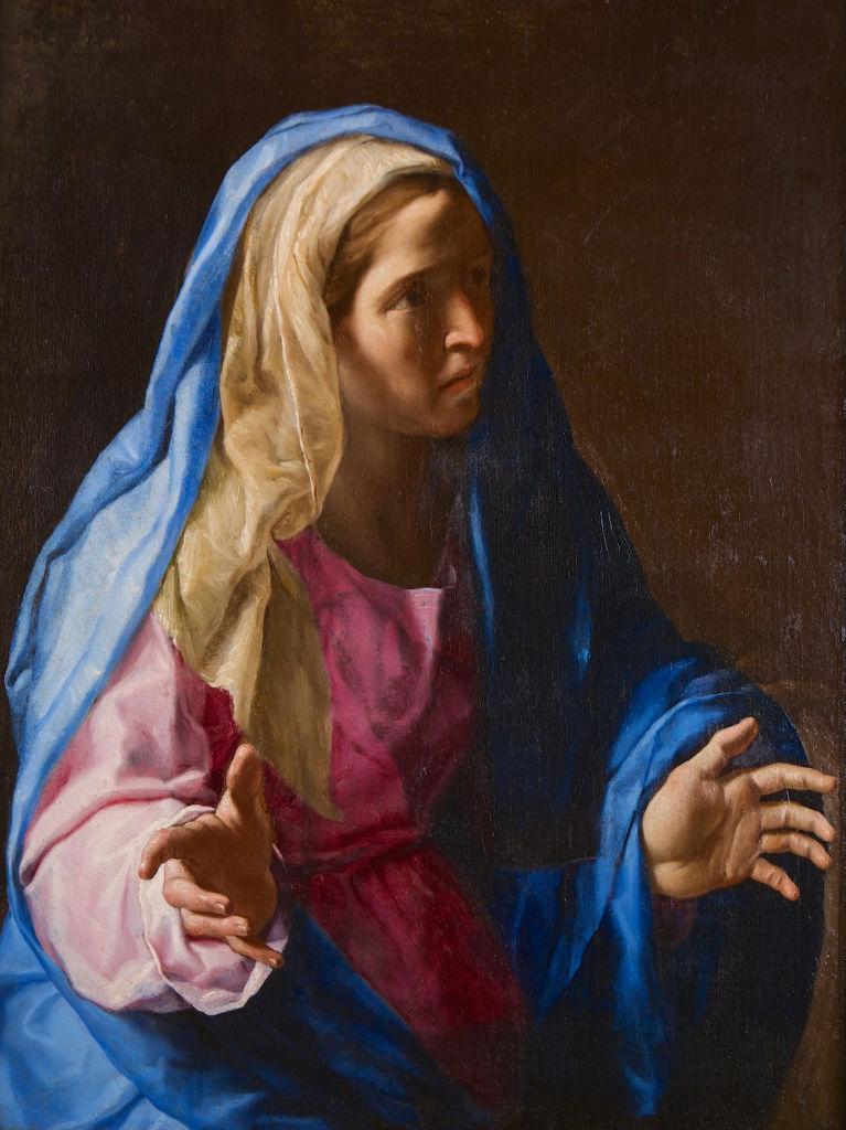 Mater Dolorosa, Francesco Cozza (1605-1682).