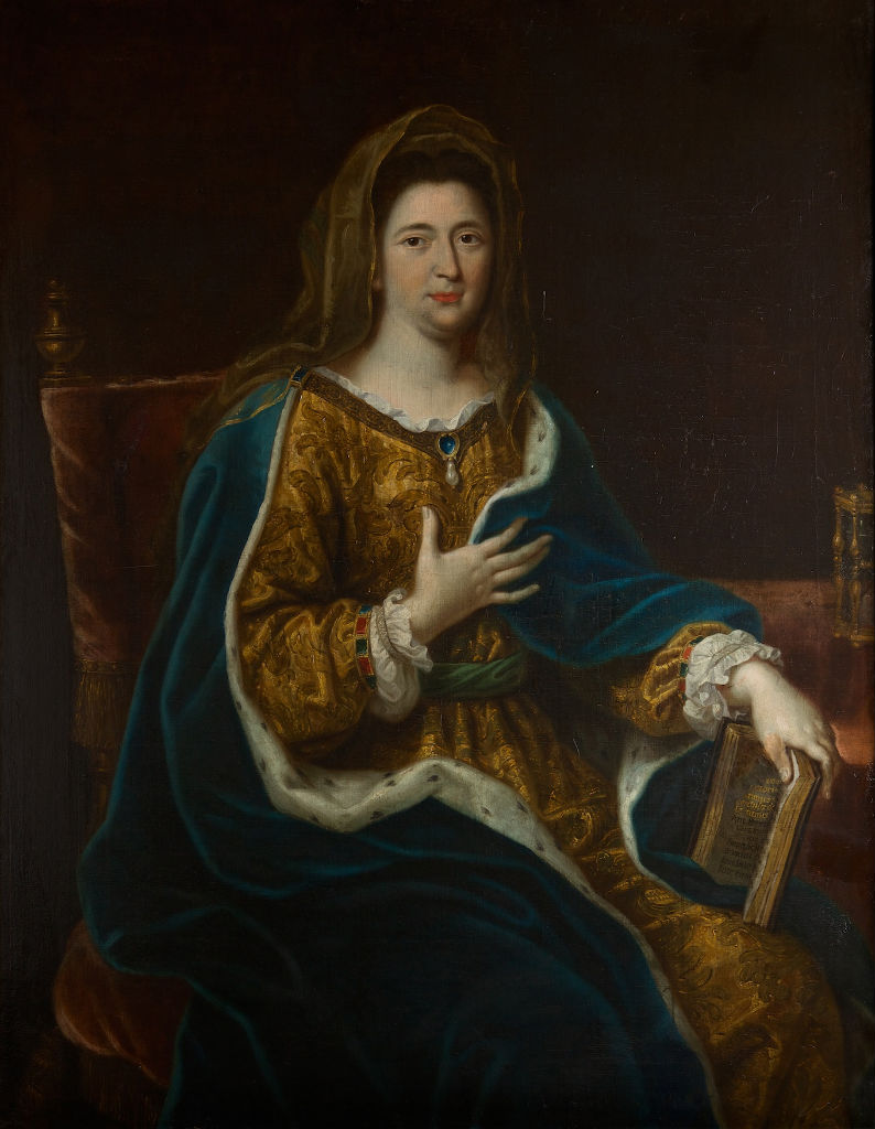 Portrait of Madame de Maintenon (1635-1719), After Pierre Mignard (1612-1695).