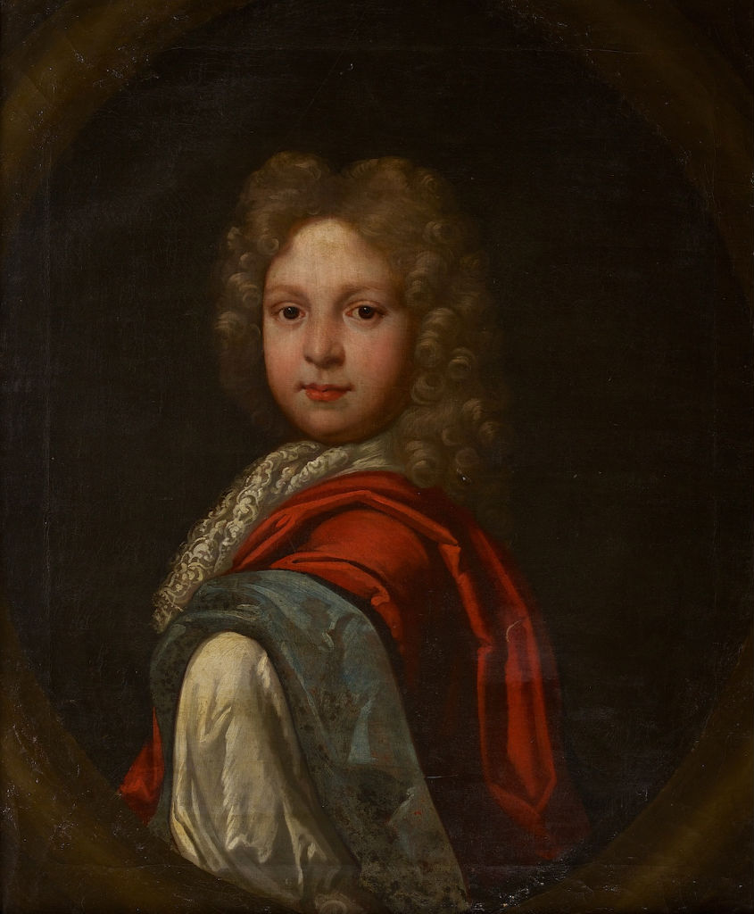 Portrait of Sir Francis Whichcote (c.1692-1775), when a Boy, Circle of Herman Verelst (1641-1690).